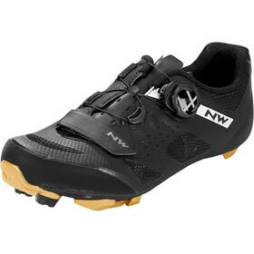 Northwave Razer Shoes Men, czarny/brązowy